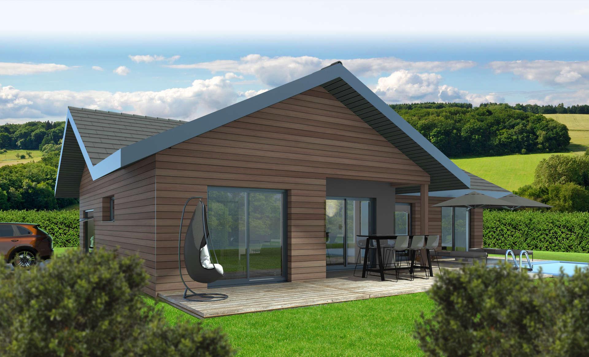 Maison En Bois Annecy constructeur de maison en bois haute-savoie, savoie maisons